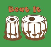 Tabla Drum Beat It T-Shirt Kids Clothes