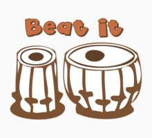 Tabla Drum Beat It T-Shirt T-Shirt