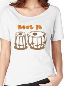 Tabla Drum Beat It T-Shirt Women's Relaxed Fit T-Shirt
