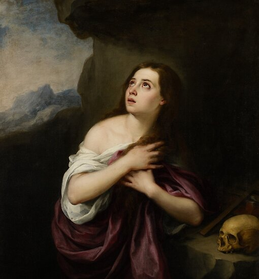 Penitent Magdelene, c.1650-65 by Bridgeman Art Library