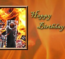 Birthday Fire by jkartlife
