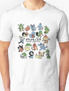 pokemon pocket monsters T-Shirt