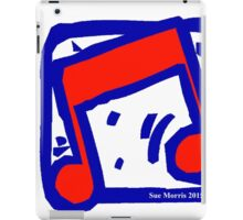 Eighth Note Red VI iPad Case/Skin