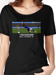 Techmo Bowl Touchdown Odell Beckham Jr. Women's Relaxed Fit T-Shirt