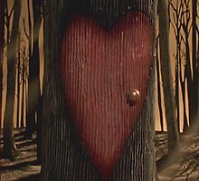 Valentine's Day Tree (Nightmare Before Christmas) by huckblade