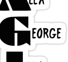 Magic Greys Anatomy (Interns) Sticker