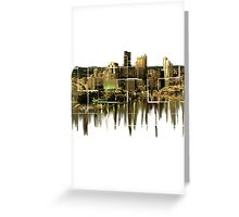 Melting Pittsburgh Greeting Card
