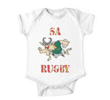 SPRINGBOK RUGBY SOUTH AFRICA  One Piece - Short Sleeve