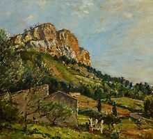 Mount Canaille, Cassis, 1923 by Bridgeman Art Library
