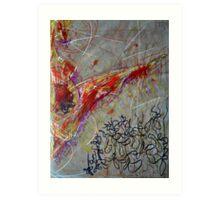 The Protozoic Sun Art Print