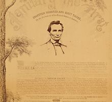 Paine copy of the Emancipation Proclamation. Copy 2 by Adam Asar