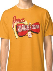 Fish Fingers & Custard Classic T-Shirt