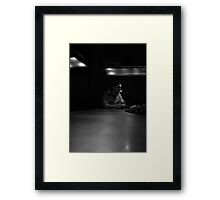 It's A Quarter To Three... Framed Print