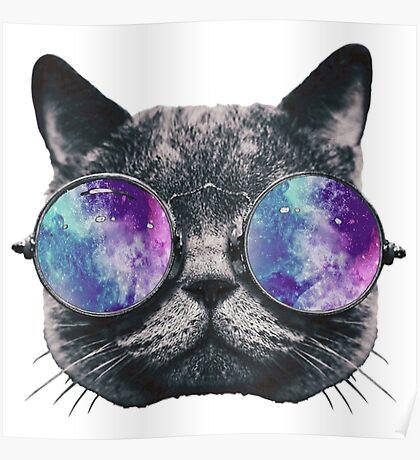 Cat Eye Galaxy Poster