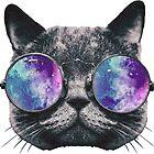 Cat Eye Galaxy by Kt Farello Designs