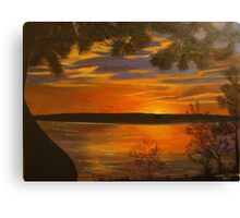 Wisconsin Sunset Canvas Print