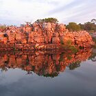 Sunrise reflections, Berkley River, Kimberleys, WA by Fred1947