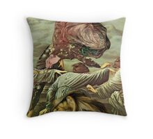 Musing the Sphinx  Throw Pillow