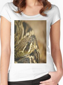 PUFF ADDER Women's Fitted Scoop T-Shirt
