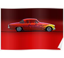 1954 Studebaker Coupe - Profile Poster