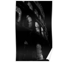 Rome-ance In Black And White. Poster