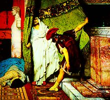 a roman emperor  by Sir Lawrence Alma-Tadema by Adam Asar