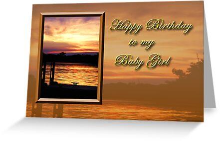 Birthday Baby Girl Pier by jkartlife