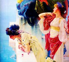A Coign of Vantage by Sir Lawrence Alma Tadema by Adam Asar