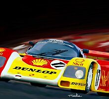1985 European Racing Porsche 956 by Tom  Sachse
