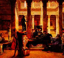 A Roman Art Lover (1870) by Sir Lawrence Alma-Tadema by Adam Asar