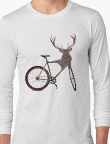 Stag Bike Long Sleeve T-Shirt