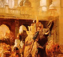 a royal procession Edwin Lord Weeks by Adam Asar