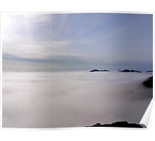 Pavey Ark above the mist Poster