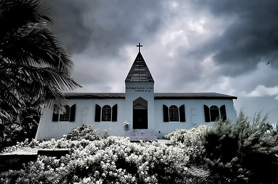 St Peter Baptist Church in Gambier Village - Nassau, The Bahamas by 242Digital