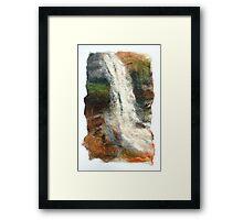 Lancashire Waterfall Framed Print