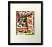 Christmas Wreathes For Sale Framed Print