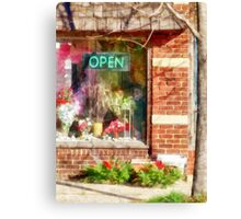 Christmas Wreathes For Sale Canvas Print