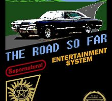 8 Bit Supernatural Road So Far by Tracey Gurney