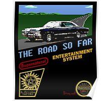 8 Bit Supernatural Road So Far Poster