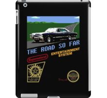 8 Bit Supernatural Road So Far iPad Case/Skin