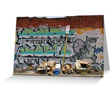 Street Art: global edition # 54 Greeting Card