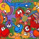 Sammy Nuttall Art - Two by Sammy Nuttall