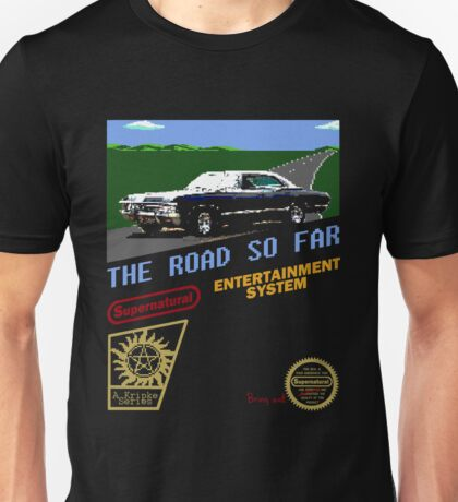 8 Bit Supernatural Road So Far Unisex T-Shirt