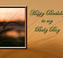 Birthday To My Baby Boy Sunset by jkartlife