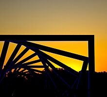 High Trestle Bridge Over the Des Moines River Valley by Jordan Selha