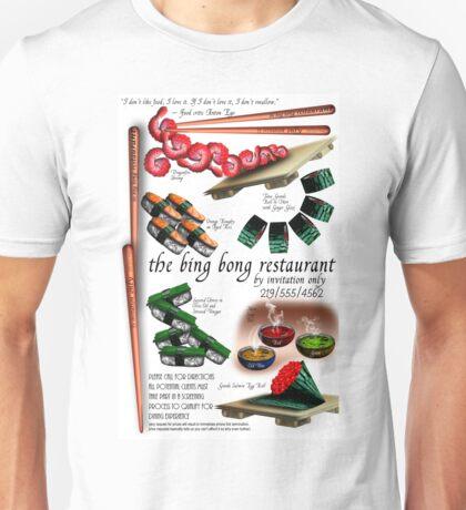 Chopsticks as Business Card Unisex T-Shirt