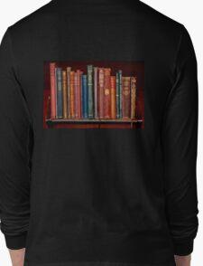 Mini library ~ of Classic books Long Sleeve T-Shirt