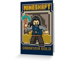 Mineshaft Greeting Card