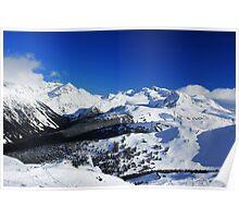 Garibaldi Provincial Park mountains Poster