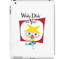 Winky Dink and You! iPad Case/Skin
